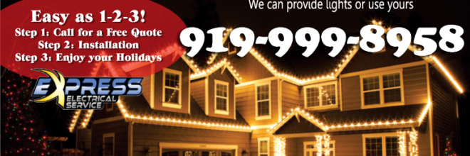Express Electrical Service Holiday Lighting