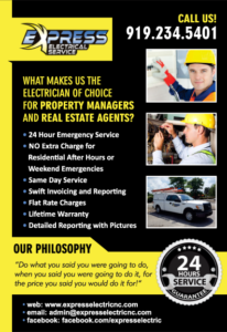 property manager raleigh, property manager electrician, property manager durham
