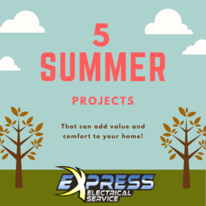 summer diy projects, electrical projects, do it yourself